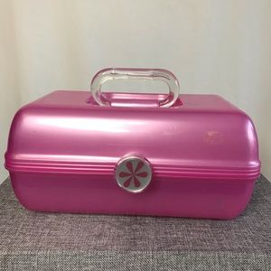 Caboodles 2622 Hot Pink Vintage Makeup Case USA